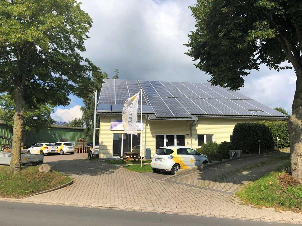 Firmensitz pm-energy Reesdorf